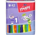 Bella Happy 1 Newborn 2-5 kg plenkové kalhotky 42 kusů