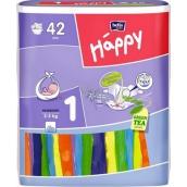 Bella Happy 1 Newborn 2-5 kg plienkové nohavičky 42 kusov