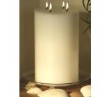 Lima Rustik svíčka bílá válec 4 knoty doba hoření cca 175 hodin 190 x 300 mm