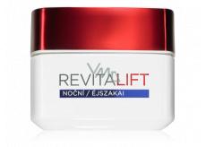 Loreal Paris Revitalift Nočná hydratačná starostlivosť proti vráskam + pre spevnenie pleti nočný krém 50 ml