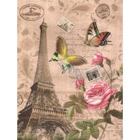 Nekupto Darčeková Kraftová taška 24 x 18 x 8 cm Eiffelova veža
