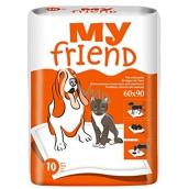 My Friend Podložky pre zvieratá 90 x 60 cm 10 kusov