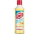 Savo Citrón a zázvor bez chlóru tekutý čistiaci a dezinfekčný prípravok na podlahy 1 l