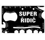 Albi Multináradie do peňaženky Super vodič 8,5 cm × 5,3 cm × 0,2 cm.