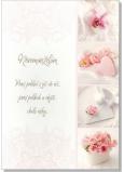 Albi Hracie prianie do obálky K svadbe Decentné svadobné koláž Vraj sa tomu hovorí láska Lenka Filipová 14,8 x 21 cm