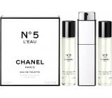 Chanel No.5 L Eau toaletná voda pre ženy komplet 2 x 20 ml