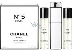 Chanel No.5 L Eau toaletná voda pre ženy komplet 3 x 20 ml