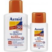 Astrid F30 Mléko na opalování 200 ml + F15 Beta-karotenem mléko na opalování 100 ml