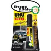 Uhu Alleskleber Super Strong & Safe super pevné sekunkové lepidlo novej generácie 7 g