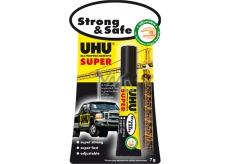 Uhu Alleskleber Super Strong & Safe super pevné sekunkové lepidlo nové generace 7 g