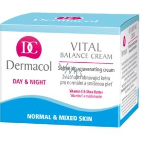 Dermacol Vital Balance Cream zvláčňujúci obnovujúci pleťový krém 50 ml