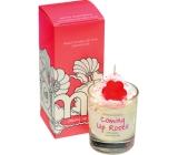 Bomb Cosmetics Růže přichází vonná přírodní, ručně vyrobena svíčka ve skle hoří až 35 hodin