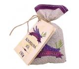 Bohemia Gifts & Cosmetics Lavendersůl do kúpeľa v plátenom sáčku 150 g
