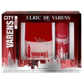 Ulric de Varens City London toaletná voda 50 ml + deodorant sprej 50 ml, darčeková sada