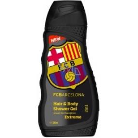 FC Barcelona Inspiration sprchový gél a šampón pre mužov 300 ml