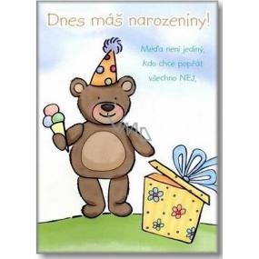 Ditipo Hracie želanie Dnes máš narodeniny Stanislav Hložek Medveď Yogi 224 x 157 mm