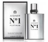 Etienne Aigner Aigner No.1 Platinum toaletná voda pre mužov 50 ml