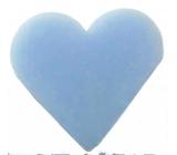 English Soap Zvonek Přírodní parfémované mýdlo Srdíčko v organze 20g