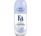 Fa Soft & Control Lila Scent guličkový antiperspirant dezodorant roll-on pre ženy 50 ml