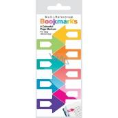 If Multi Referencie Bookmarks Záložky do knihy Farebné 38 x 1,5 x 25 mm