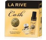 La Rive Cash Woman toaletná voda 90 ml + dezodorant sprej 150 ml, darčeková sada