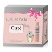 La Rive Cuté parfémovaná voda pro ženy 100 ml + deodorant sprej 150 ml, dárková sada