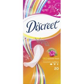 Discreet Deo Summer Fresh multiform slipové intimní vložky pro každodenní použití 20 kusů