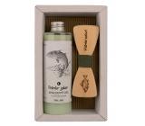 Bohemia Gifts & Cosmetics Rybár Olivový olej sprchový gél 250 ml + drevený motýlik, kozmetická sada