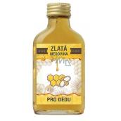 Bohemia Gifts & Cosmetics Zlatá medovina 18% Pre dedka 100 ml