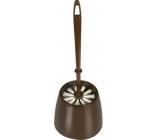 Spokar WC Súprava, kefa priemer 85 mm, plastový kryt 4322, rôzne farby