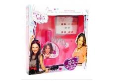 Disney Violetta toaletná voda 30 ml + praštěná + blok pre deti darčeková sada