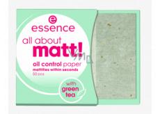 Essence All About Matt! papieriky proti mastnote 50 kusov