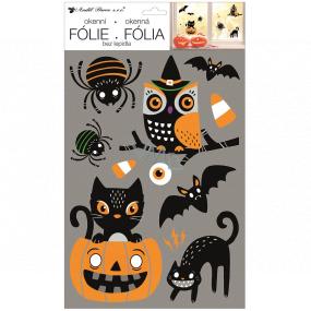 Okenné fólie bez lepidla Halloween 25 x 42 cm