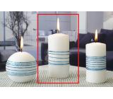 Lima Exclusive sviečka modrá valec 60 x 120 mm 1 kus