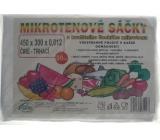 Press Mikrotenové sáčky trhací čiré 45 x 30 cm 50 kusů