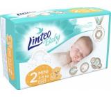 Linteo Baby Premium 2 Mini 3 - 6 kg jednorazové plienky 34 kusov