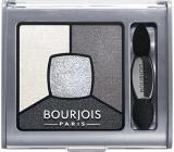 Bourjois Smoky Stories Quad Eyeshadow Palette oční stíny 01 Grey And Night 3,2 g