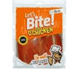 Brit Lets Bite Kuřecí prsa filety pamlsek pro psy 400 g