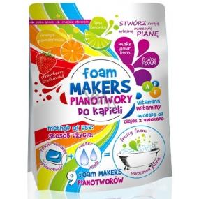 Foam Makers Farebná kúpeľ olejová pena do kúpeľa v kapsuliach 9 x 35 g expirácie 4/2018