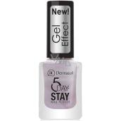 Dermacol 5 Day Stay Gél Effect dlhotrvajúci lak na nechty s gélovým efektom 31 Bijoux 12 ml