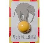 Bomb Cosmetics Vek je irelevantné - Age is Irr-elephant Šumivé želanie s balistiky 40 g