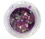 Professional Ozdoby na nechty štvorčeky fialové 132