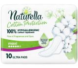 Naturella Cotton Protection Ultra Maxi hygienické vložky s krídelkami 10 kusov