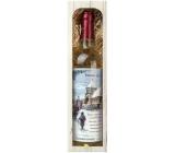 Bohemia Gifts & Cosmetics Chardonnay Štedrý večer nastal víno 750 ml, darčeková sada