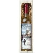 Bohemia Gifts Chardonnay Štedrý večer nastal víno 750 ml, darčeková sada