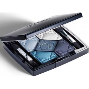 Dior 5 Couleurs paletka 5ti očních stínů 276 Carré Bleu 6 g