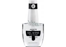 Astor Perfect Stay 3D Gel Shine Top Coat vrchní lak na nehty 100 Transparent 12 ml