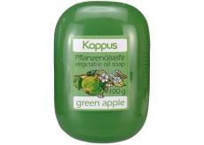 Kappus Zelené jablko glycerinové toaletní mýdlo s rostlinným olejem 100 g