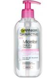 Garnier Skin Active Micelárny čistiaci gél pre citlivú pleť dávkovač 200 ml
