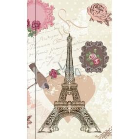 Albi Bloček kapesní linkovaný Eiffelova věž 96 stran 9,5 cm x 15,5 cm x 0,9 cm
